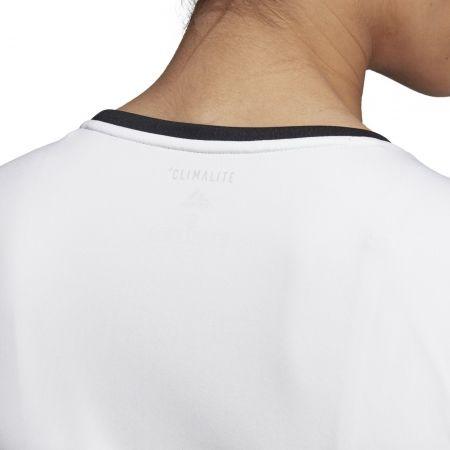 Dámské tenisové triko - adidas CLUB 3 STRIPES TEE - 10