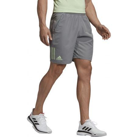 Men's shorts - adidas CLUB 3 STRIPES SHORT 9INCH - 4