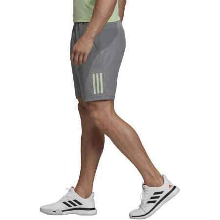 Men's shorts - adidas CLUB 3 STRIPES SHORT 9INCH - 5