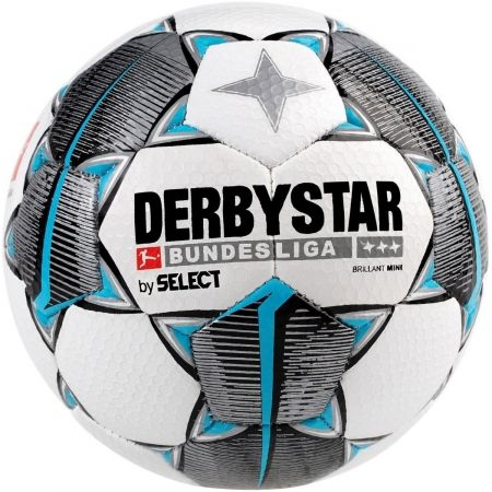 Select DERBYSTAR BRILLANT REPLICA MINI - Futbalová lopta