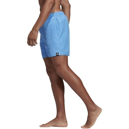 Pánske plavecké šortky - adidas SOLID SHORT LENGTH - 5