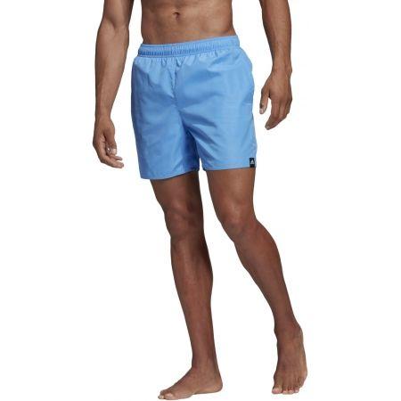 Pánske plavecké šortky - adidas SOLID SHORT LENGTH - 3