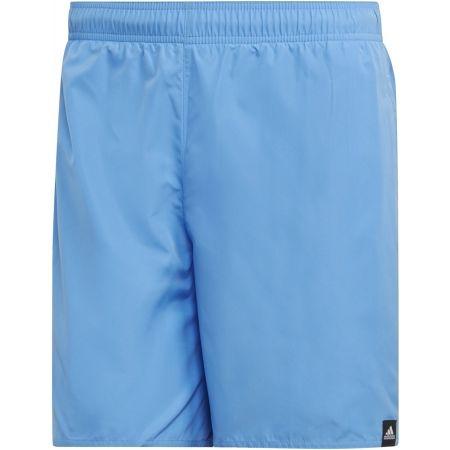 Pánske plavecké šortky - adidas SOLID SHORT LENGTH - 1
