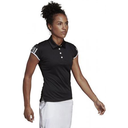 Дамска тениска с яка - adidas CLUB 3 STRIPES POLO - 5