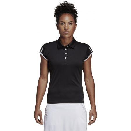 Дамска тениска с яка - adidas CLUB 3 STRIPES POLO - 4