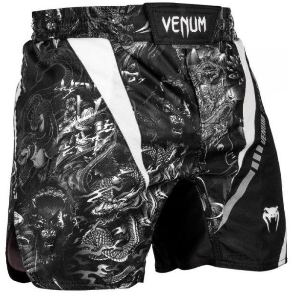 Venum ART FIGHTSHORTS tmavě šedá M - Pánské šortky