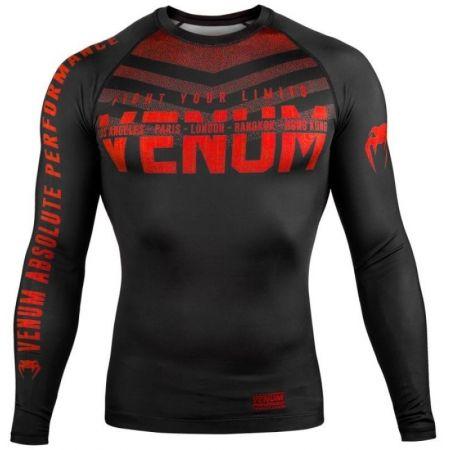 Venum SIGNATURE RASHGUARD LS - Tricou sport bărbați