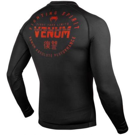 Tricou sport bărbați - Venum SIGNATURE RASHGUARD LS - 4