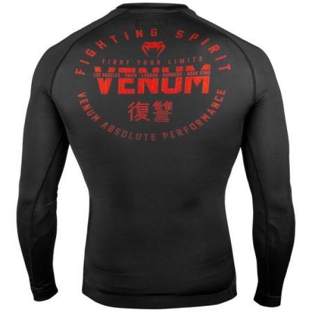 Tricou sport bărbați - Venum SIGNATURE RASHGUARD LS - 2
