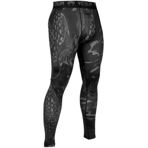 Venum DRAGONS FLIGHT SPATS fekete S - Kompressziós legging