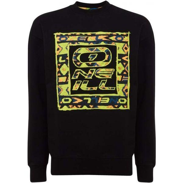 O'Neill LM THE RE ISSUE CREW fekete XXL - Férfi pulóver