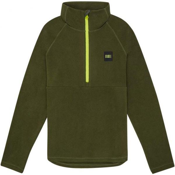 O'Neill PB 1/4 ZIP FLEECE tmavě zelená 140 - Chlapecká mikina