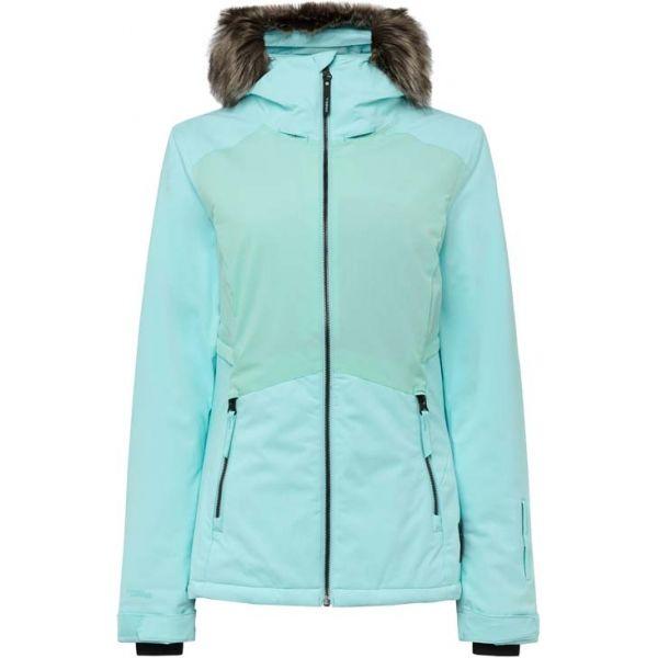 O'Neill PW HALITE JACKET zelená L - Dámská lyžařská/snowboardová bunda