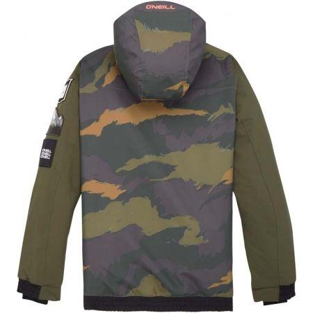 Chlapecká lyžařská/snowboardová bunda - O'Neill PB DECODE-BOMBER JACKET - 2
