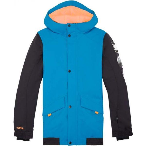 O'Neill PB DECODE-BOMBER JACKET niebieski 164 - Kurtka narciarska/snowboardowa chłopięca