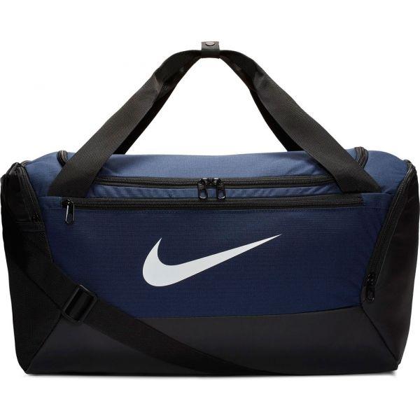 Nike BRASILIA S DUFF - 9.0 tmavo modrá Športová taška NS Nike