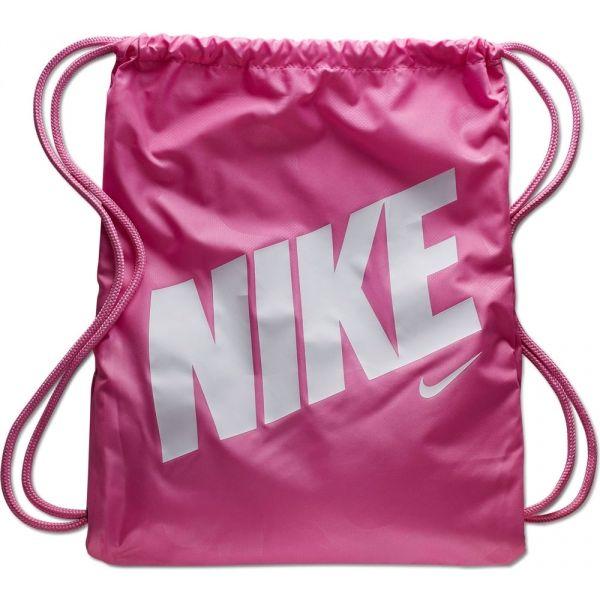 Nike Y GYMSACK - AOP růžová NS - Dětský gymsack