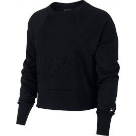 Nike DRY FLC GET FIT LUX CRW - Tricou damă