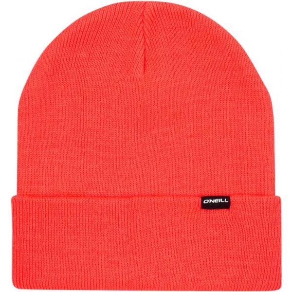 O'Neill BW CHAMONIX BEANIE červená 0 - Dámská zimní čepice