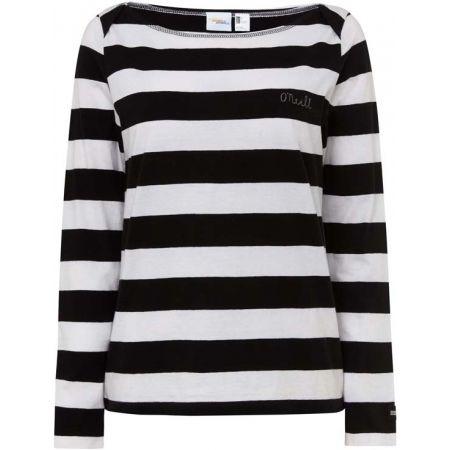 O'Neill LW ESSENTIAL STRIPED L/SLV - Dámske tričko s dlhým rukávom