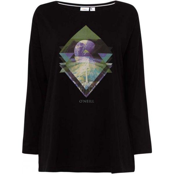 O'Neill LW KALANI L/SLV T-SHIRT fekete XL - Hosszú ujjú női póló