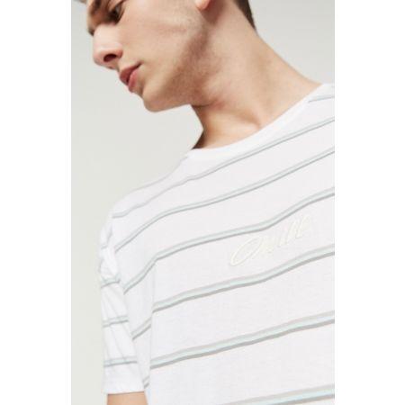 Pánské tričko - O'Neill LM STRIPED WOW T-SHIRT - 8