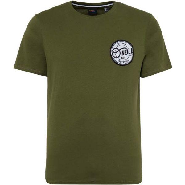 O'Neill LM CERRO CALI T-SHIRT zelená M - Pánské tričko