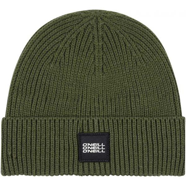 O'Neill BM BOUNCER BEANIE tmavě zelená 0 - Pánská zimní čepice
