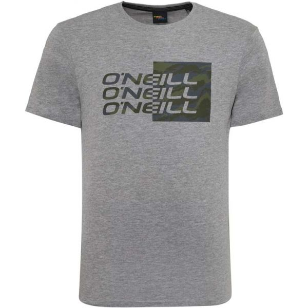 O'Neill LM MEYER T-SHIRT šedá M - Pánské tričko