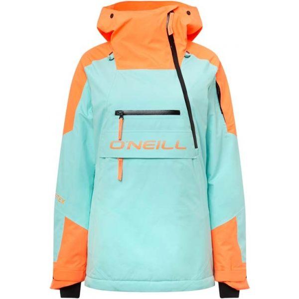 O'Neill PW GTX PSYCHO TECH ANORAK modrá XL - Dámská snowboardová/lyžařská bunda