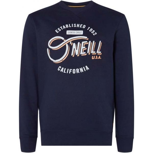 O'Neill LM MUGU CALI CREW sötétkék XL - Férfi pulóver