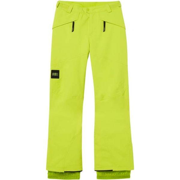 O'Neill PB ANVIL PANTS zelená 164 - Chlapecké lyžařské/snowboardové kalhoty