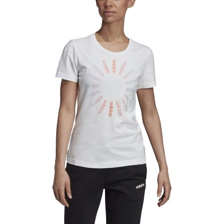 Women's T-shirt - adidas CRCLD T 1 - 3