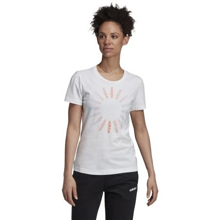 Women's T-shirt - adidas CRCLD T 1 - 4