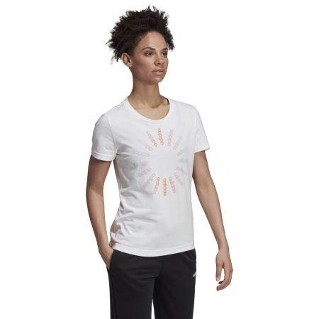 Women's T-shirt - adidas CRCLD T 1 - 5