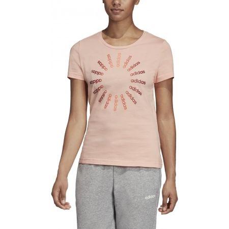 Dámske tričko - adidas CRCLD T 1 - 3