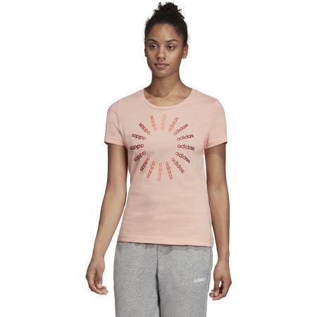 Dámske tričko - adidas CRCLD T 1 - 4