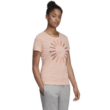 Dámske tričko - adidas CRCLD T 1 - 5