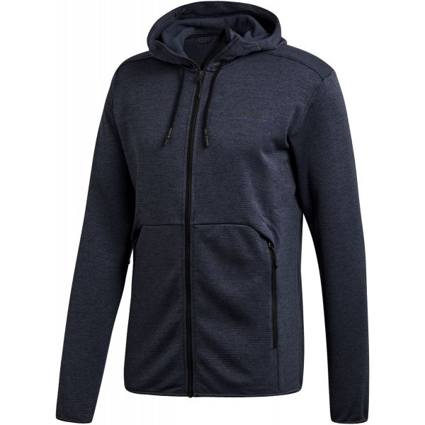 adidas CTC HO FL JKT albastru 50 - Hanorac outdoor bărbați