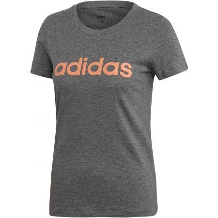 Tricou de damă - adidas E LIN SLIM TEE - 1