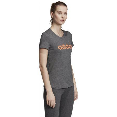 Women's T-shirt - adidas E LIN SLIM TEE - 5