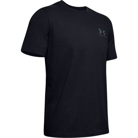 Pánské tričko - Under Armour SPORTSTYLE LC BACK TEE - 1