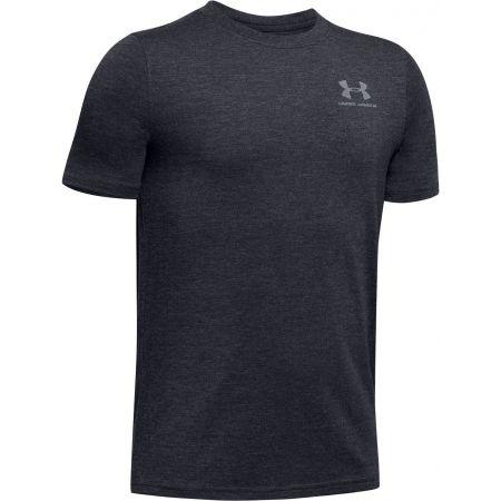 Chlapčenské tričko - Under Armour EU COTTON SHORT SLEEVE - 1