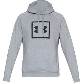 Under Armour RIVAL FLEECE BOX LOGO HOODIE - Men's hoodie