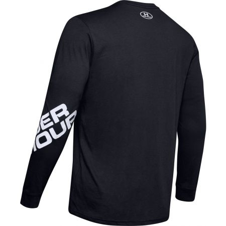 Pánské triko s dlouhým rukávem - Under Armour WORDMARK SLEEVE LS - 2