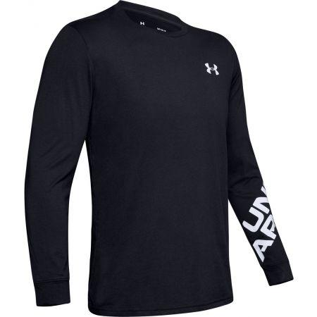 Pánské triko s dlouhým rukávem - Under Armour WORDMARK SLEEVE LS - 1
