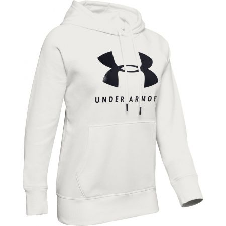 Дамски суитшърт - Under Armour RIVAL FLEECE SPORTSTYLE GRAPHIC HOODIE - 1