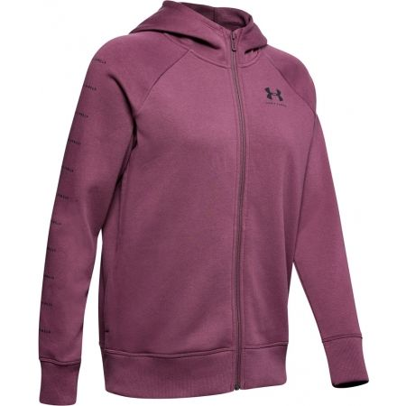 Under Armour RIVAL FLEECE SPORTSTYLE LC SLEEVE GRAPHI - Women's hoodie