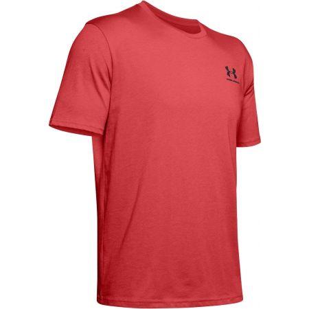 Мъжка тениска - Under Armour SPORTSTYLE LEFT CHEST SS - 1