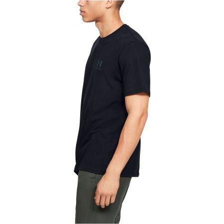Pánské tričko - Under Armour SPORTSTYLE LC BACK TEE - 5